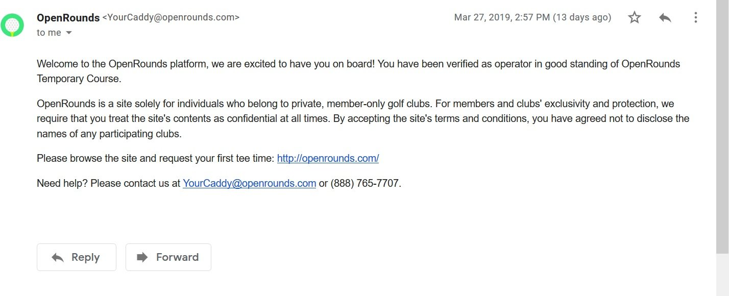 OpenRounds Verification